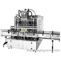 Lobe Pump Type Automatic Liquid Filling Machine