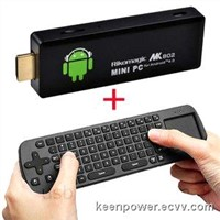 MK802 II Mini Android 4.0 PC Google TV Box Mini PC TV Dongle+Air Fly Mouse 12