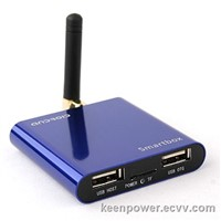 MTB021 Mini Android PC Android TV Box With Antenna Android 4.0 A10 1G RAM HDMI-SB170