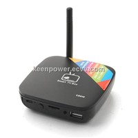 MTB028 Mini Android TV Box Android 4.1 RK3066 Dual Core 1G RAM 8GB HDMI RJ45 Bla-SB138