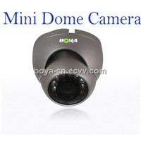 Mini Dome Camera,800TVL CMOS Camera,IR-CUT Filter for Scurity CCTV System