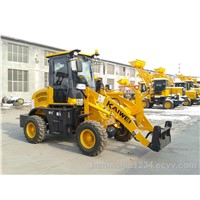 Mini ZL15E wheel loader with Euro III Engine