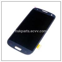 Mobile phone full set display digitizer LCD for Samsung Galaxy S3 i9300, available in white