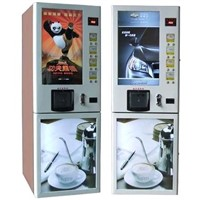 Multifunctional Coffee and Beverage Vending Machine