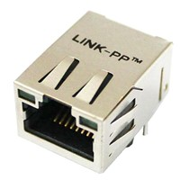 Network RJ45 Telephone Jack , Female RJ 45 Modular Jack with POE
