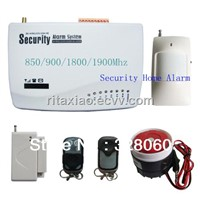 New product 10 defend zones Wireless security Home Intelligent Burglar GSM Alarm System