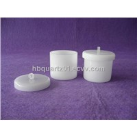 Opaque Silica Crucibles with Cover