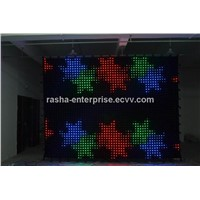 P5 2M*3M Customized Size LED Video Curtain for DJ Booth,DJ Backgroud