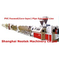 PVC Foamed (Core-layer) Pipe Extrusion Line