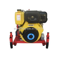 Portable diesel engine fire pump