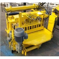 QT40-3A Egg laying concrete blocks moulding machine