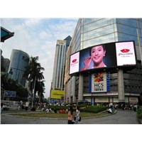 RGB P16 Outdoor LED Advertisement Display Sign , Static Current