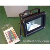 RGB Remote Control LED Flood Light 10-20W