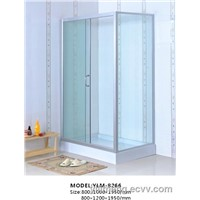 Rectangle Simple Shower Room with Frame