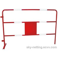 Reflective Portable Construction Barrier Red and White 1500*1000mm