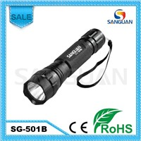 SG-501B Sanguan Ultrafire Cree Q5 LED Camping Super Hand Cool LED Torchlight