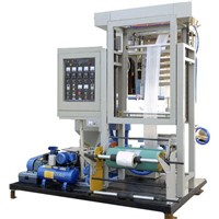 SJ45(50)-600/700 Mini Type Film Blowing Machine
