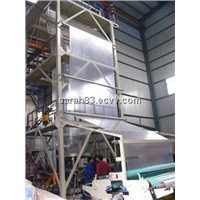 SJ75/90/120 HDPE/LDPE/LLDPE Film Blowing Machine