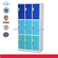 SW-W015 popular high quality 9 doors steel locker