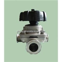Sanitary 3 Way Diaphragm Valve