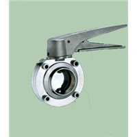 Sanitary Butterfly Valve with Adjustable Handle