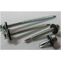 Self Drilling Screws Hex Washer Head With EPDM Washer DIN7504K