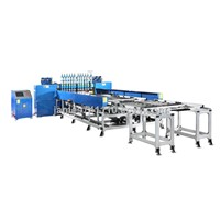Semi-Automatic Gate Type Bundy Tube Condenser Double Fixtures and Trolleys Welding Machine