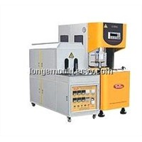 Semi autoamtic PET stretching blow molding machine