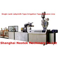 Single Lank Labyrinth Type Irrigation Tape Extrusion Line