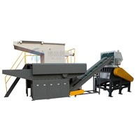 Single-Shaft Shredder Line