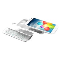 Sliding & Standing Detachable BT Keyboard Case for SamsungGalaxy S4-(KRSK05-S4)