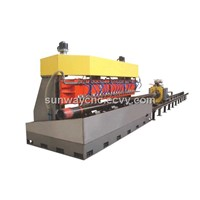 Slotted liner oil screen pipe CNC Slotting Machine