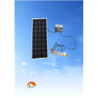 Solar fill light lighting system