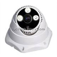 Sony CCD 650TVL Waterproof Night Vision Lattice IR Dome Camera(LSL-D616S)