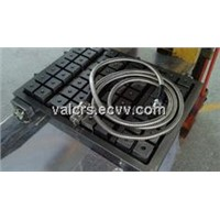 Square magnetic pole VCS50, 70, 75 series of electric permanent magnetic chuck used for CNC