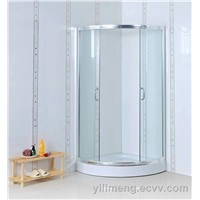 Stain Shower Cabin with Low ABS/ Acylic Shower Tray