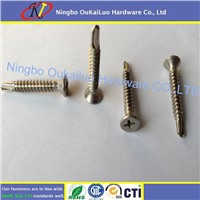 Stainless Steel Phillips Countersunk Head Self Drilling Screws
