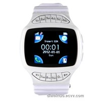 Touch screen corsair sport watch cellphone with bottoms