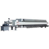 Type 1000 Hydraulic Rubber Membrane Filter Press