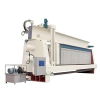 Type 1500 over-beam PP high pressure membrane filter press