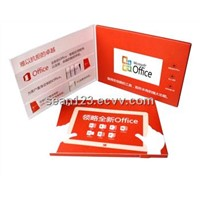 Promotion Gift video business card LCD video greeting card