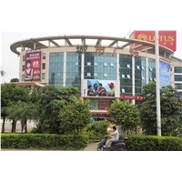 Wall Full Color Outdoor Advertising LED Display, P8 Digital Signage Waterproof