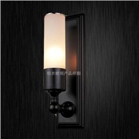 Wall lamp Glass shade with metel base (MB-505)