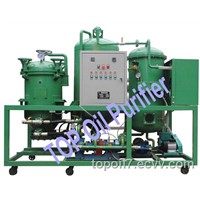 Waste Black engine oil recycling machine TPR
