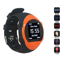 Waterproof wrist watch gps tracker