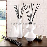 White Ceramic Reed Diffuser, Diffuser Bottle