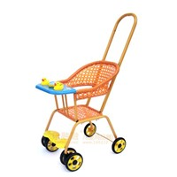 Wicker Baby Stroller made of Nice Pe Rattan