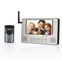 Wireless Intercom Kit / Wireless Video Door Phone Kit (T708CW+T05CW)