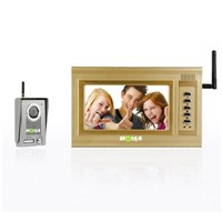 Wireless Video Door Phone / Wireless Intercom (T709CW+T06CW)