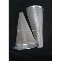 Woven Mesh Stainless Steel Cone Filter